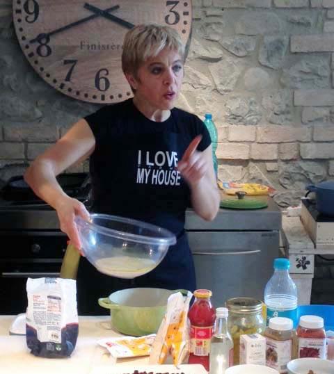 laboratori cucina parmigiana Ilaria Bertinelli
