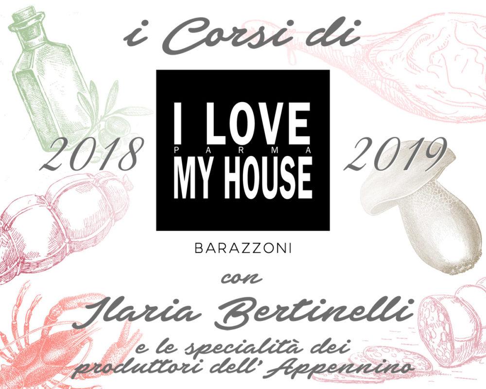 I corsi di Ilovemyhouse con Ilaria Bertinelli e le specialità dell'Appennino
