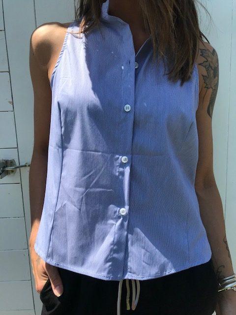 Camicia Le Streghe blu