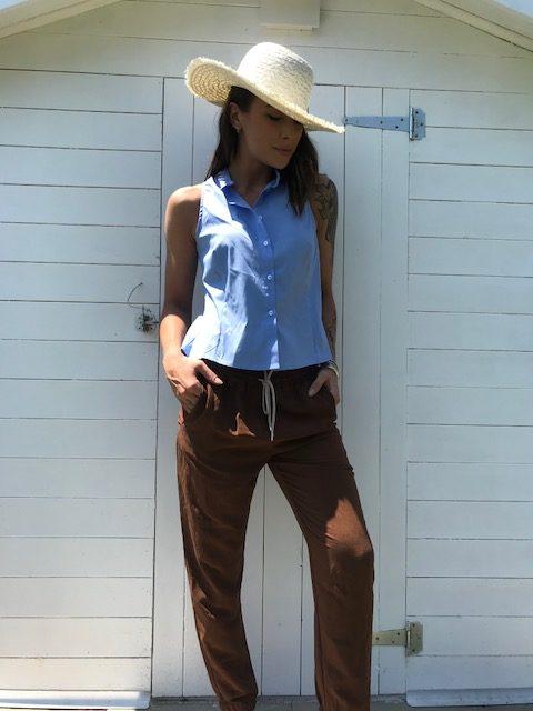 Pantalone Le Streghe marrone