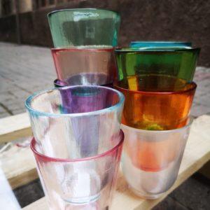 Set 12 bicchieri Arcobaleno