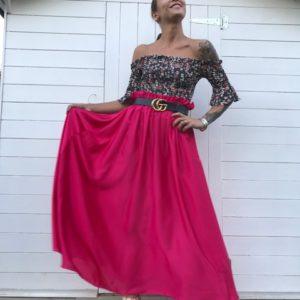 Top Victoria ILMH nero rosa